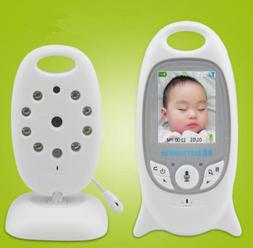 Wireless Video Baby Monitor Color Security Camera NightVisio