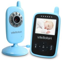 HelloBaby Wireless Video Baby Monitor with Security Night Vi
