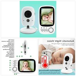 Wireless Video Color Baby Monitor 3.2 inch High Resolution B