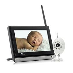 ZTOP Wireless Widescreen LCD 7 Inch 2.4GHz Baby Monitor With