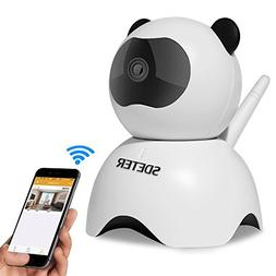 720P Wireless Wifi IP Camera, Sdeter Security Camera With Ni