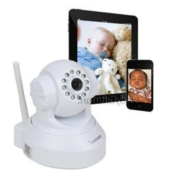 Wireless Wifi Security Camera Baby Monitor IP Smartphone Aud