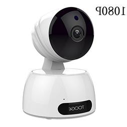 Wireless Wifi Security Camera by Tooge, IP Camera 1080P HD I