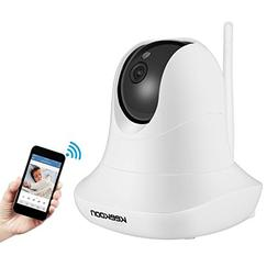 KeeKoon 1080P Wireless/Wired IP Camera ,Baby Monitor with Tw